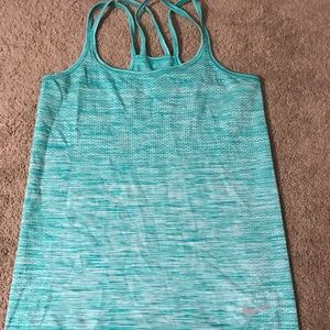 Nike Dry Fit Blue Tank Top Size Small